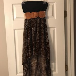 Strapless Rue21 High Low Dress